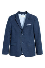 Textured jacket - Dark blue - Kids | H&M 2